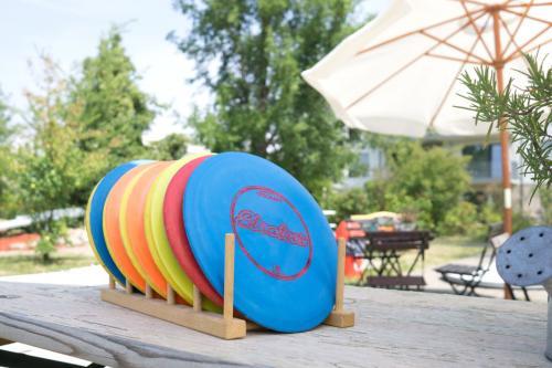 Minigolf discgolf