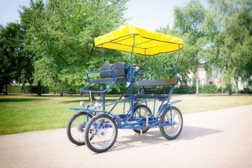 Minigolf tretmobil aussenansicht