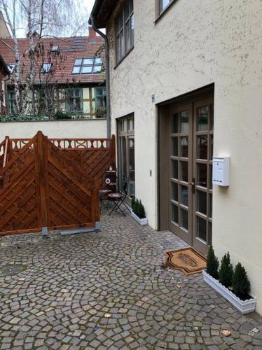 ferienwohnung potsdam terrasse