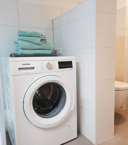 ferienwohnung potsdam waschmaschine